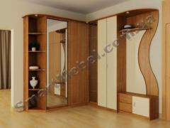 Clothes on the basis of aluminum consoles the