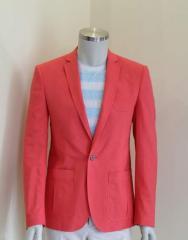 Мужской пиджак , Код: Котон 4218/3 модель 53L