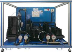 Control of the refrigeration unit with in parallel