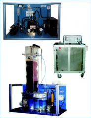 The refrigeration unit with Ldokhranilishchem, Is