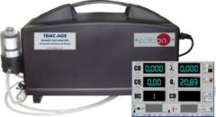 Analyzer of exhaust TBMC-AGE gases