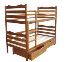 Кровать двухьярусна (из шухлядамы)