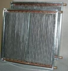 Калориферы с медно-алюминиевым теплообменником.