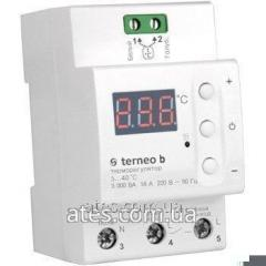 Digital temperature regulator of terneo b