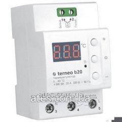 Цифровой термостат повышенной мощности terneo b30