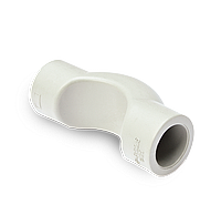 Contours short for polypropylene pipes
