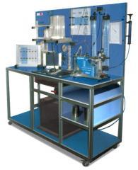 Hydraulic Stand and Properties of BHI Liquid
