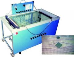 Visual display of the Laminar current and Analysis