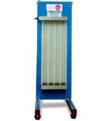Мультиманометр с 8 манометрическими трубками