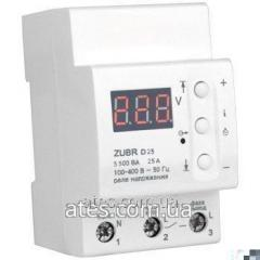 Overvoltage protection of ZUBR D50