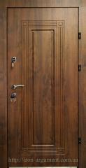 Doors entrance with MDF overlays of ELITE, Doors