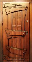 Входные двери Кантри, Двери стальные под старину