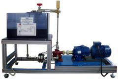 The stand of the Gear pump, Is controlled from the