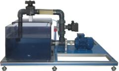 The stand of the Axial pump, Is controlled from