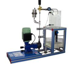 The stand (piston) Plunger pump, Is controlled