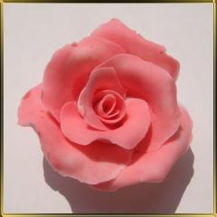 Марципановые съедобные цветы ручной работы