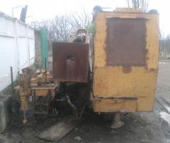 The drilling rig of second-hand SBU-125 in a