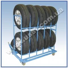 Carts for HUNDRED. Carts for tires. The cart for