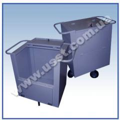Bank carts for transportation of money supply