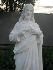 Новая статуя Иисуса Христа в ЧП Прядко