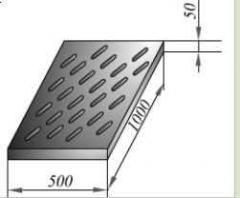 Lining plate