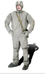 Chemical protection suit lightweight protective