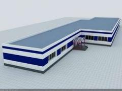Shop turnkey construction