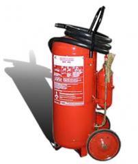 Fire extinguisher mobile powder OP-50 (VP-45)