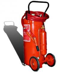Mobile fire extinguisher powder op-100 (VP-90)