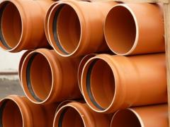 Pipes, shaped parts from polypropylene for the
