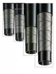 Рукава напорные резиновые с текстильным  каркасом