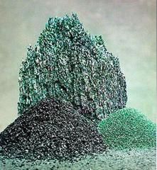Silicon carbide green 64C, black 54C