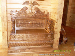 Curbstones, dressers carved for hotels