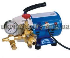 Электрический насос для гидроиспытаний, опрессовки