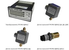 Pressure measuring instrument multipurpose IDM