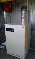 Block and modular boiler room of 100 kW