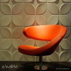 3D three-dimensional panels for walls