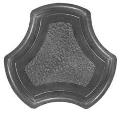 Mould for paving slabs. Rockie.