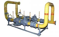 Installation gas control the UGR-200 type with the