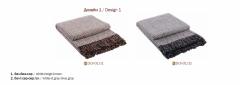 Plaids woolen Dolche Vita of 170х210 cm