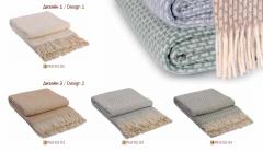 Plaid woolen Gunny of 200x220 cm