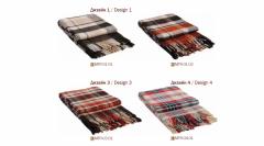 Mezcla de lana alfombras Metro 170 x 210 cm