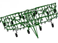 CULTIVATOR OF HOOK-ON KP-12