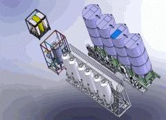 Установка производства биодизеля в потоке УБД-4