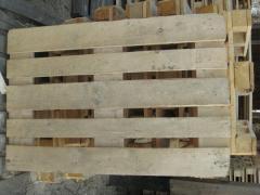 Поддон деревянный б/у