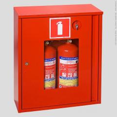Case protective for two the fire extinguisher