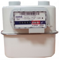 Счетчик газа Metrix G-4 с кмч