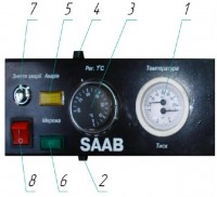 Панель управления TTK Традиция, Multi 80 Вт