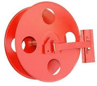 Drum for a fire hose (52mm/66 mm). From the