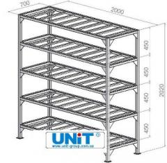 Rack for UNIT mea